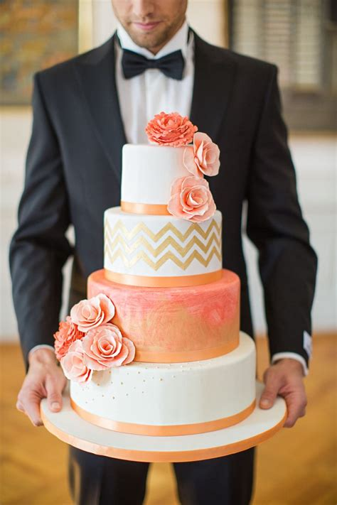 coral wedding color ideas  dont   overlook