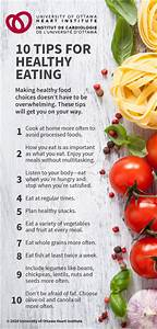 Ten Things To Know About Healthy Eating