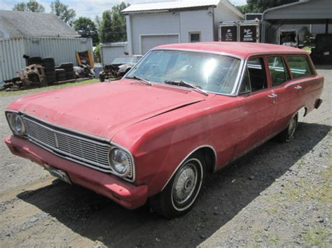 1966 ford falcon station wagon project drag car 289 motor for sale technical