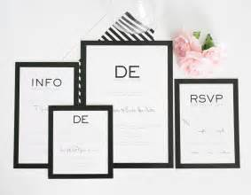 black and white wedding invitations modern wedding invitations in black and white wedding invitations