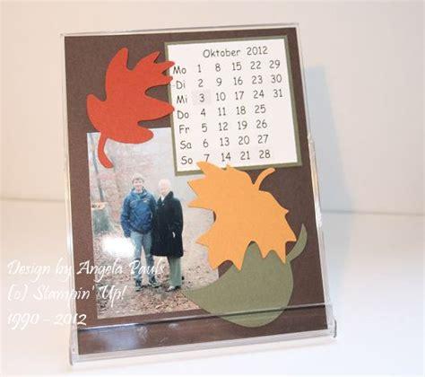 fotokalender selber machen ideen kalender stempelliebe