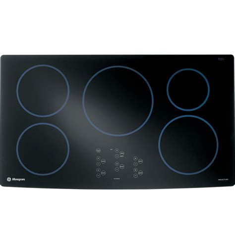 ge induction cooktop zhu36rbmbb ge monogram 174 36 quot induction cooktop the