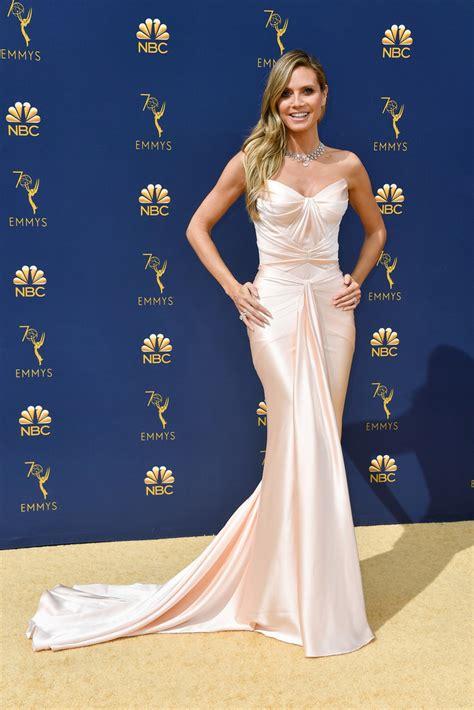 Heidi Klum The Most Daring Dresses On The Emmy Awards
