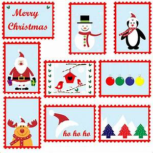 christmas postage stamps template free stock photo With christmas letter stamp