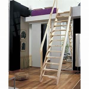 Echelle D Escalier : escalier de meunier en bois pas d cal s haut sol sol ~ Premium-room.com Idées de Décoration