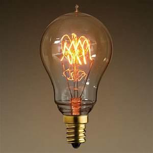 25W Antique Edison Light Bulb - 3 Loop Tungsten Filament