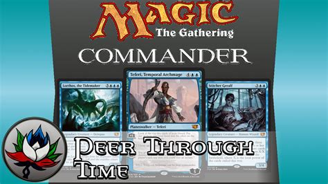 teferi commander deck upgrade mono blue peer through time commander 2014 deck tech