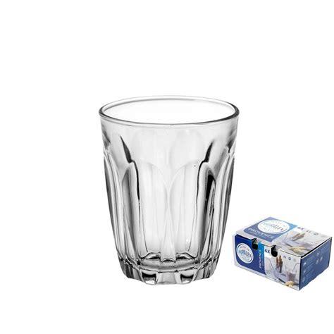 bicchieri duralex duralex bicchiere vetro temperato cl 9 pz 6 provence
