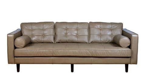 canapé cuir taupe choisir un canapé en cuir