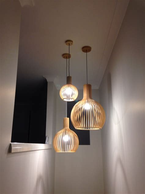 In Pendant Lighting by Pendant Lights In Stairwell Entryway In 2019 Pendant