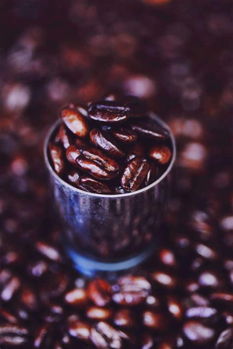 imagen de granos de cafe foto gratis