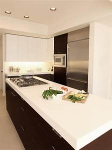 solid surface countertops pictures ideas from hgtv hgtv With kitchen colors with white cabinets with car name stickers