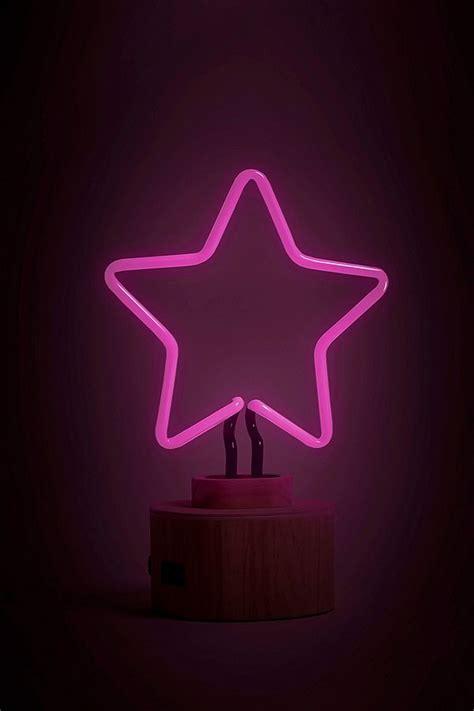 neon bureau gingersnap le de bureau néon en forme d 39 étoile