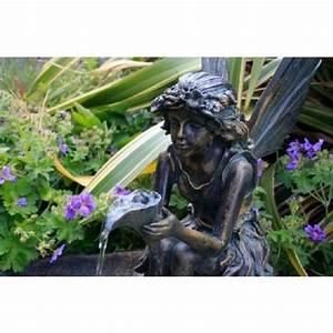 Fontaine De Jardin Pas Cher : fontaine de jardin solaire f e sur coquillage clairage ~ Carolinahurricanesstore.com Idées de Décoration