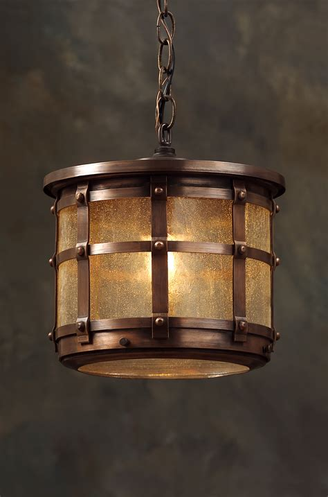 tudor hanging light fixture revival lighting