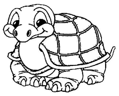 tortue dessin facile a colorier
