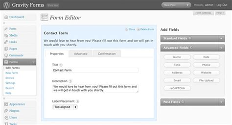 5 best contact form plugins reviewed