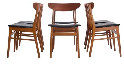 vintage modern dining chairs