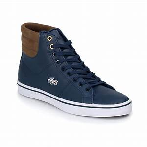 Lacoste Marcel Blue Khaki Womens Trainers Sneakers Shoes ...