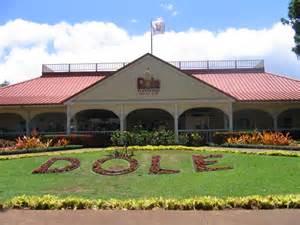 Dole Plantation Hawaii
