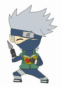 Chibi: Kakashi Hatake by animereviewguy on DeviantArt