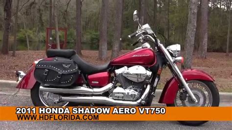 Used 2011 Honda Shadow Aero Vt750 Motorcycles For Sale In
