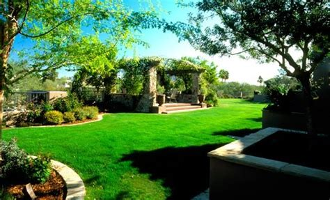Landscaped Backyards Pictures by Arizona Landscaping Az Photo Gallery