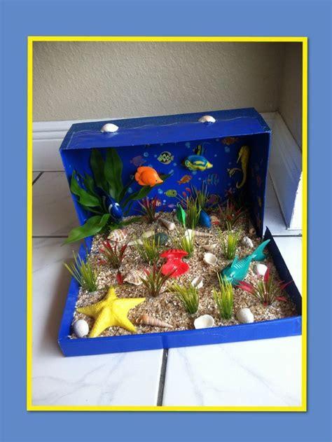 ocean habitat diorama ideas  kids ocean ecosystem