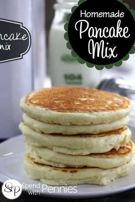 homemade pancake mix recipe  easy spend  pennies