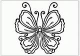 Butterfly Coloring Pages Drawing Butterflies Drawings Outlines Moth Printable Print Sketch Fun Popular Sheet Getdrawings Library Clipart Template sketch template