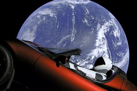 spacex sports car  racing  asteroid belt