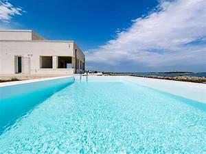 Una Casa Da Sogni Con Piscina Panoramica Su Una Scogliera