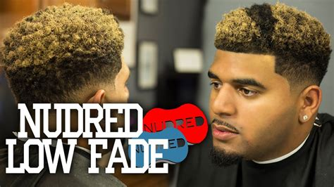 How To Nudred Low Fade W Blond Coloring Mens Haircut