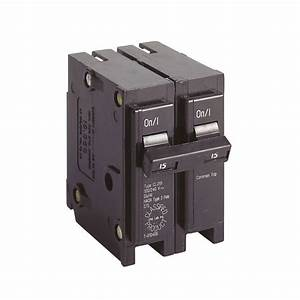 Eaton 15 Amp 1 In  Double