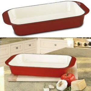 durable   cast iron baking pan kitchenware home cookware oven cooking  ebay