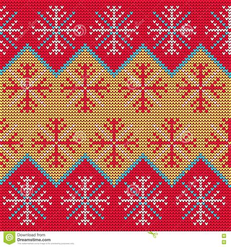 Sweater Background Sweater Pattern9 Stock Vector Image Of