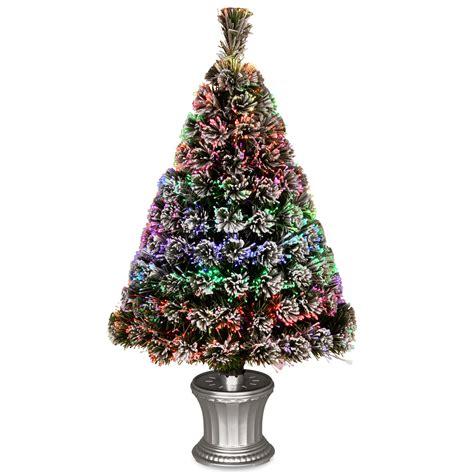 Fiber Optics Christmas Trees Artificial by National Tree Co Fiber Optics 3 Artificial Christmas