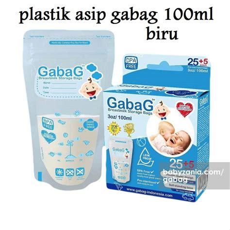 jual gabag breastmilk storage 100ml kantong plastik penyimpan asi di lapak ading baby shop