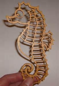 seahorse scroll saw pattern cedasyru29