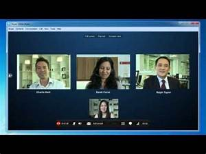 How to make a Skype video conference call - Windows - YouTube