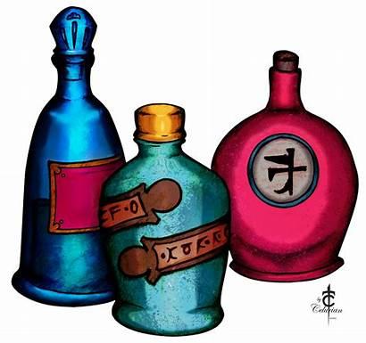 Potion Clipart Magic Potions Clip Cliparts Bottles