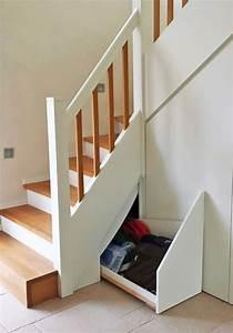 Treppe Mit Stauraum : treppe mit pfiff holztreppe mit treppenunterbau ~ Michelbontemps.com Haus und Dekorationen