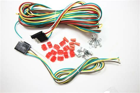 Way Trailer Wiring Connection Kit Flat Wire
