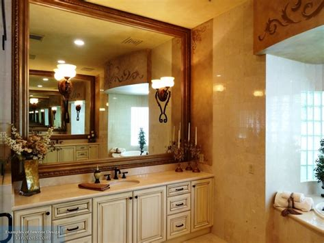 Oak Framed Bathroom Mirrors With Simple Inspirational