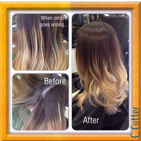 Bad Ombre Vs Good Ombre Ombre Hair Color Pinterest
