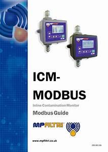 Icm Modbus User Guide By Mp Filtri