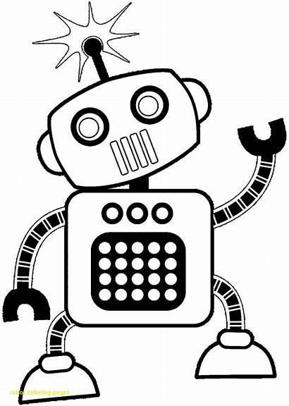 Robot Coloring Pages Technology Printable Lego Cool