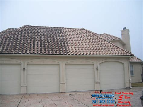 katy memorial roof cleaning power washing cleaning tile