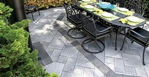 10, Patios, That, Use, Paver, Patterns, To, Make, A, Statement