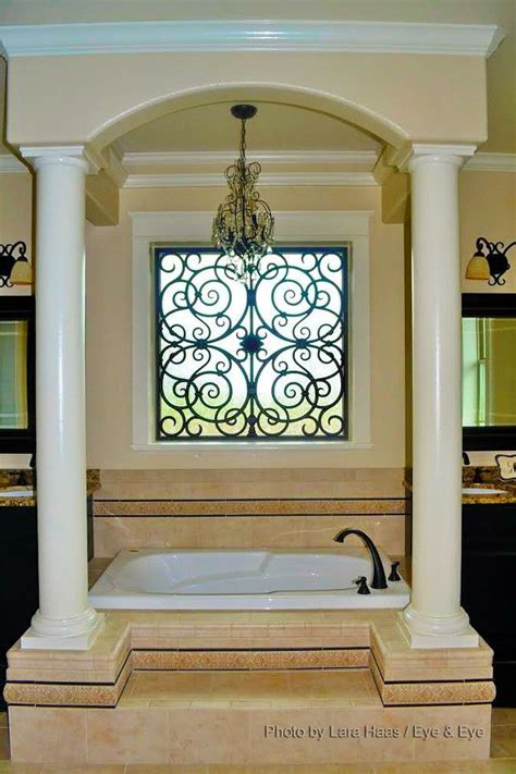 Interior Window Treatments by 17 Best Images About Tableaux 174 Faux Iron Window Treatments